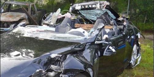 Tesla crash stirred a government investigation.