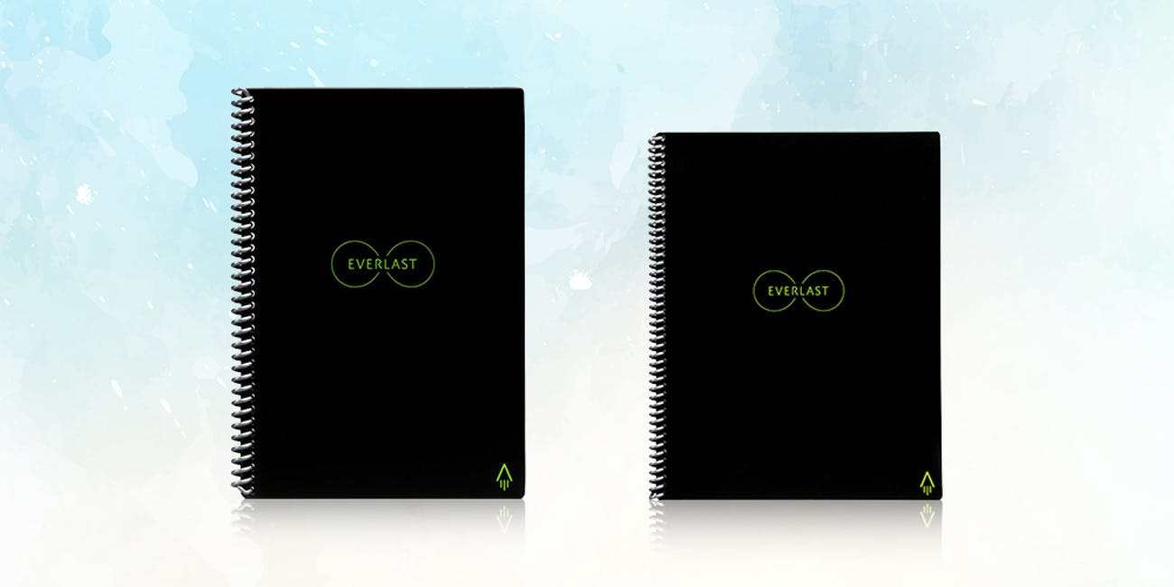 Rocketbook Everlast Reusable Notebook + Pen Station: 2-Pack
