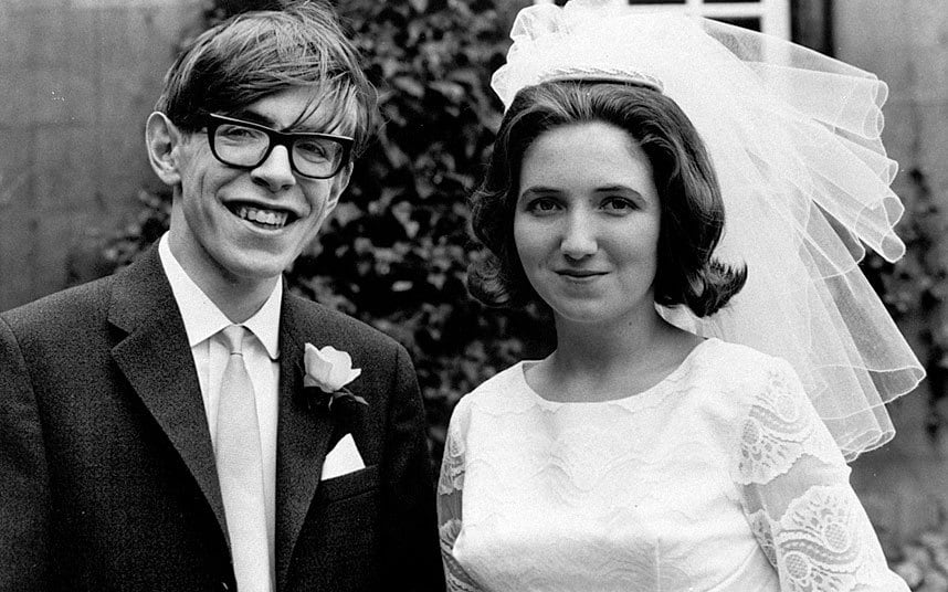 Stephen and Jane Hawking