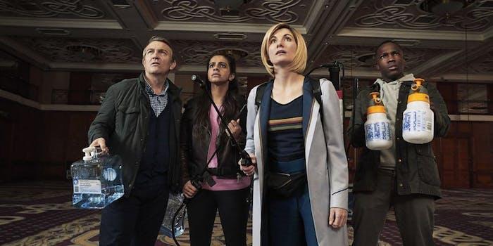"'Doctor Who' ""Arachnids in the UK"""
