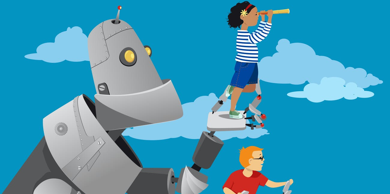 Robots in classrooms could help children learn while freeing up time for teachers to do other tasks