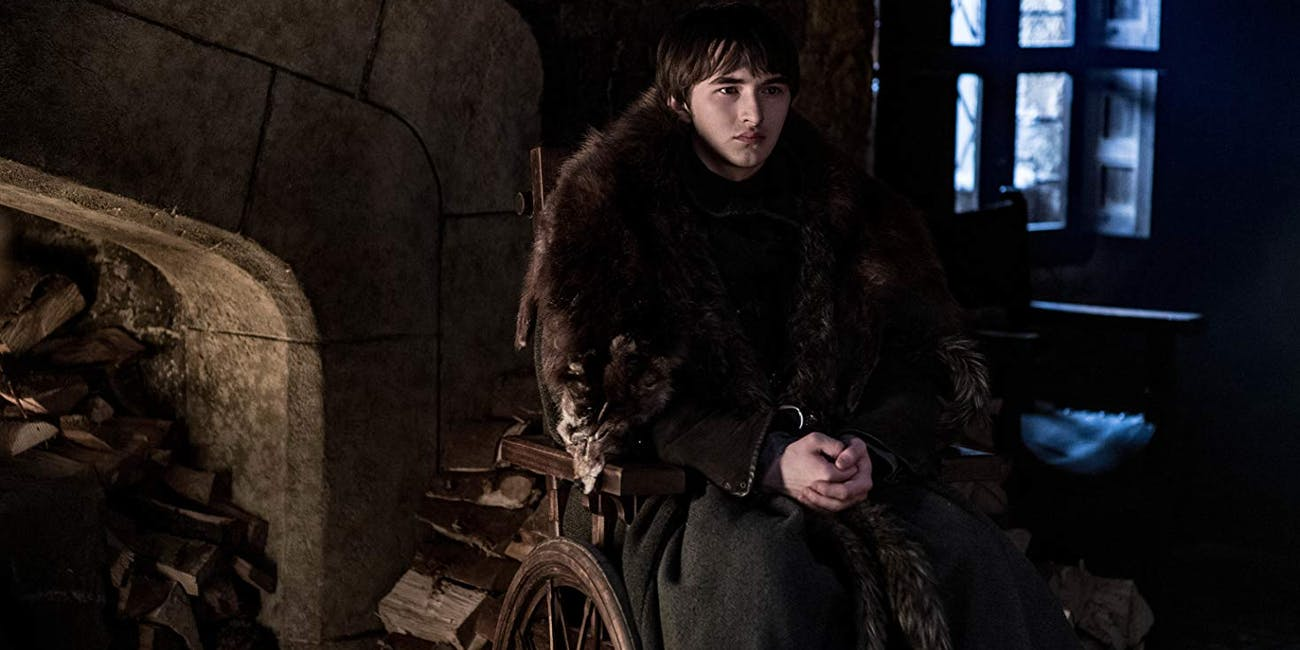Bran (Isaac Hempstead Wright) on HBO's 'Game of Thrones' Season 8