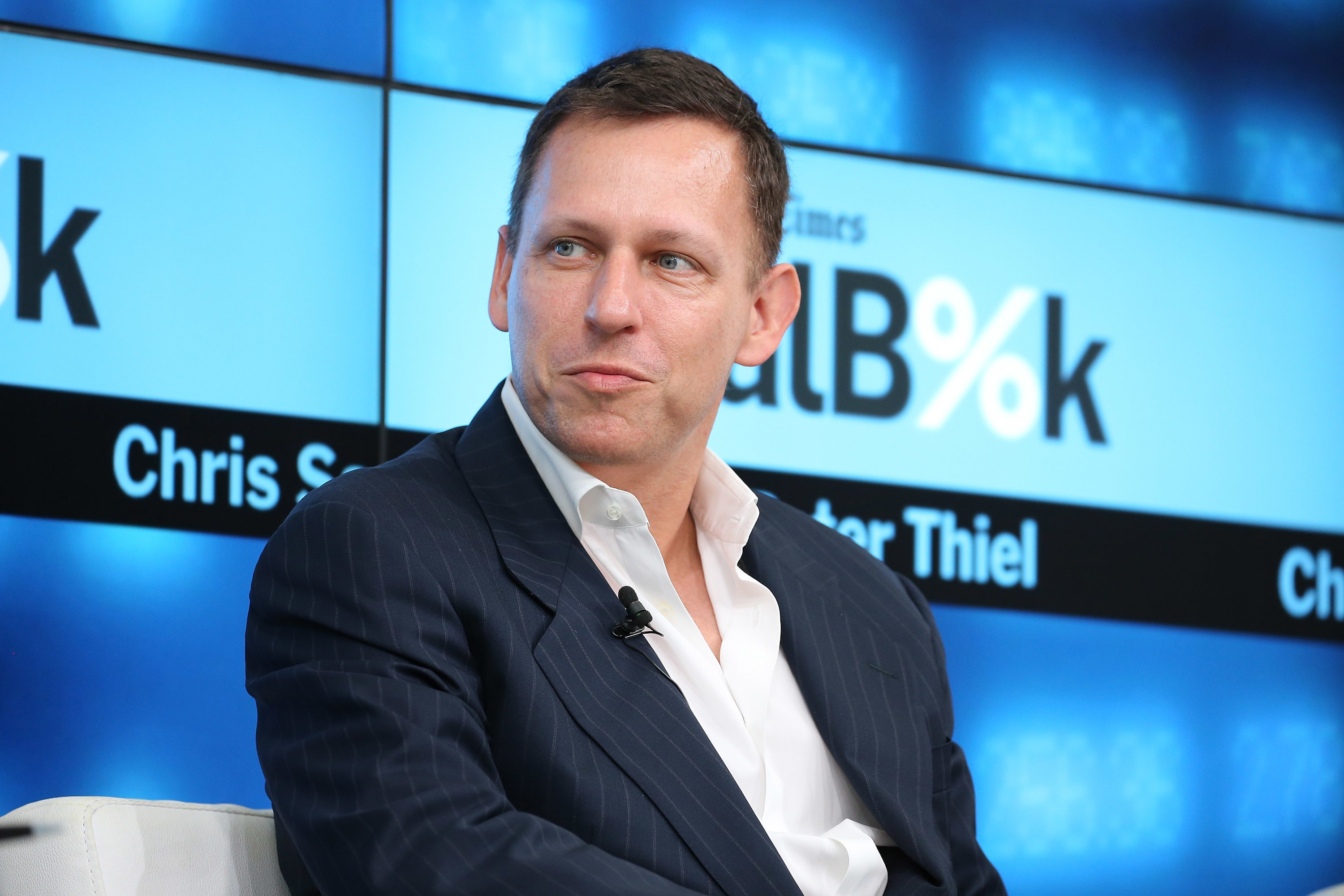 Peter Thiel: Not friends with Elon, but in frighteningly good shape.