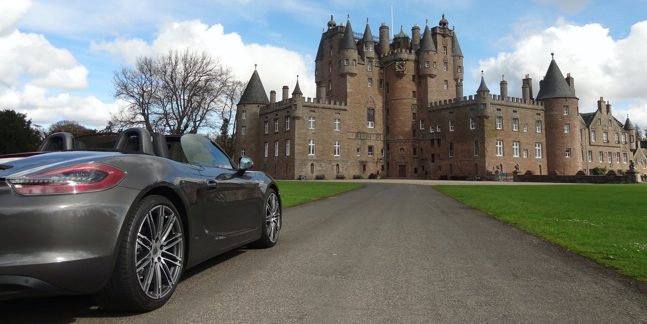At Glamis Castle (1)
