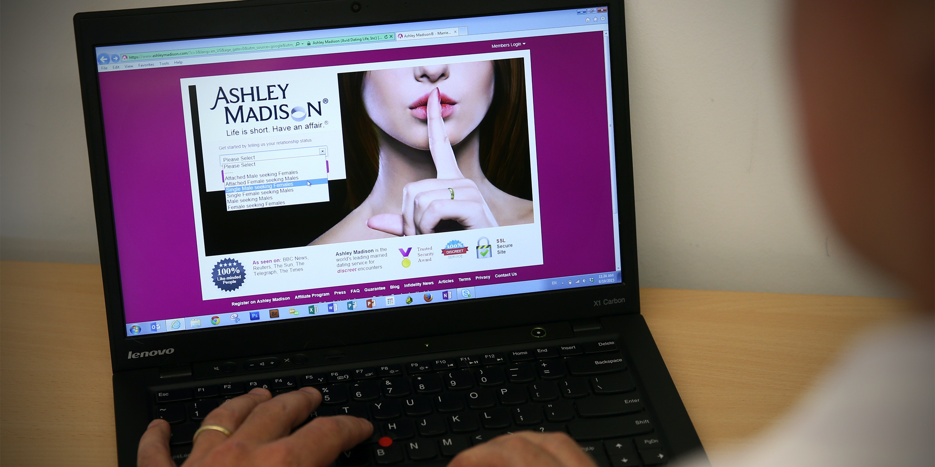 ashley madison says it s now for kinks but that seems doubtful inverse