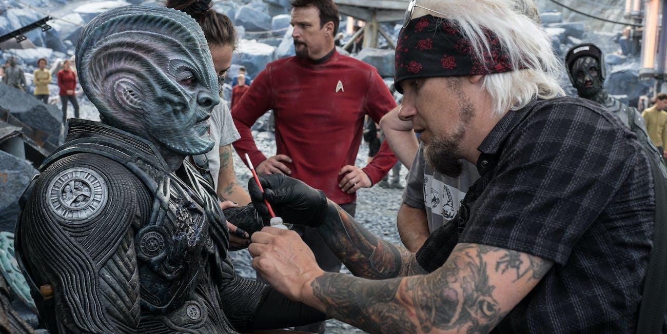 Star Trel Beyond Krall Makeup Designs Oscars Joel Harlow Nominee