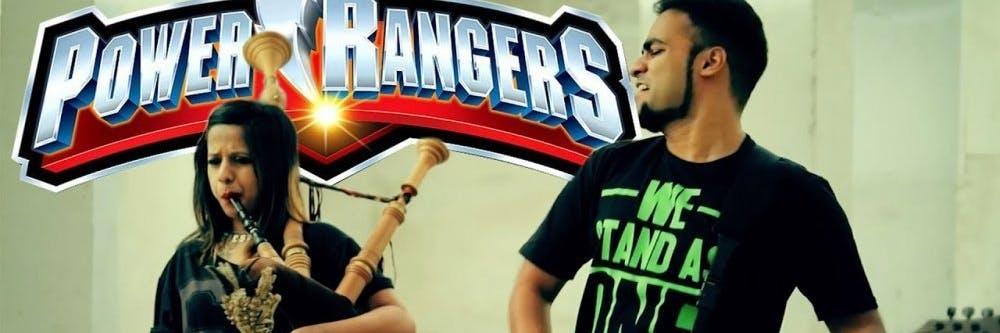 Power Rangers Cover Bagpipes