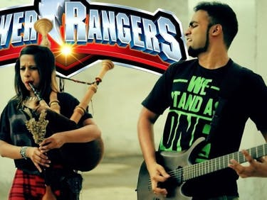 Metal Bagpipes Cover of 'Power Rangers' Theme Is a Total Banger