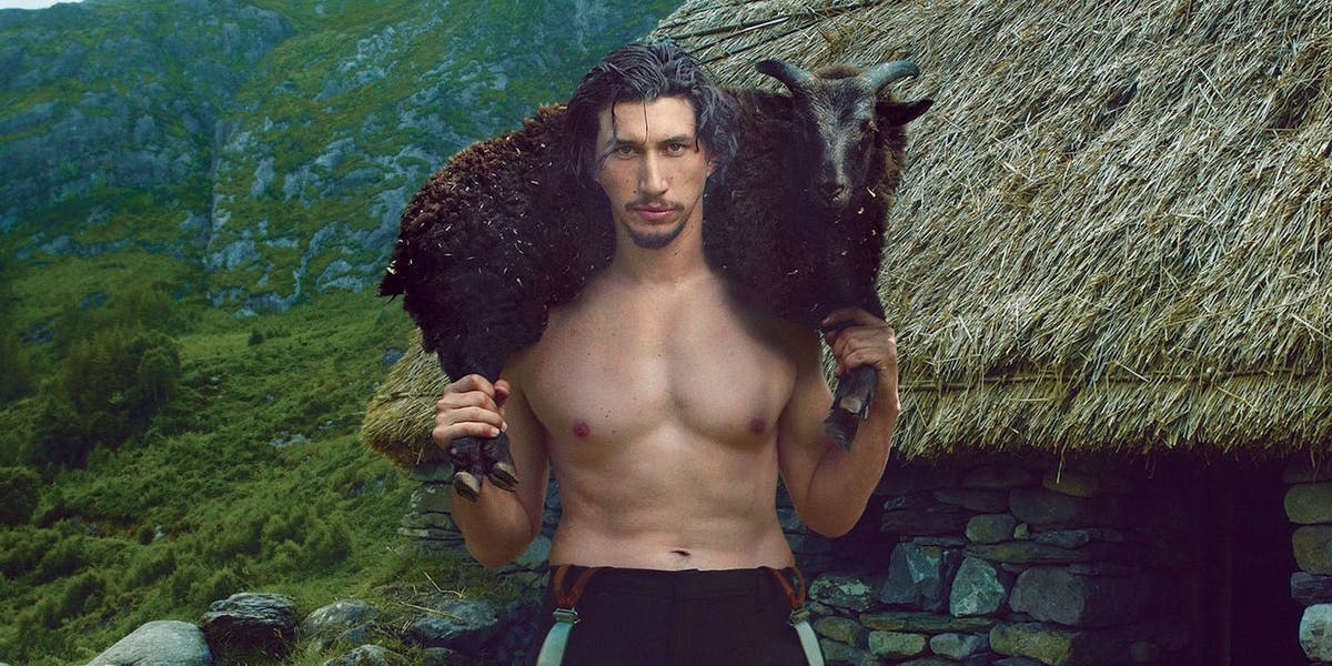 Last Jedi Shirtless Kylo Ren Meme Has Conquered The -5591