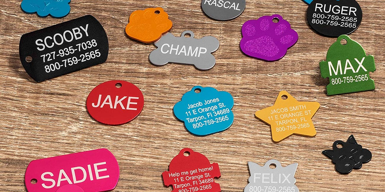 Custom Pet Tags