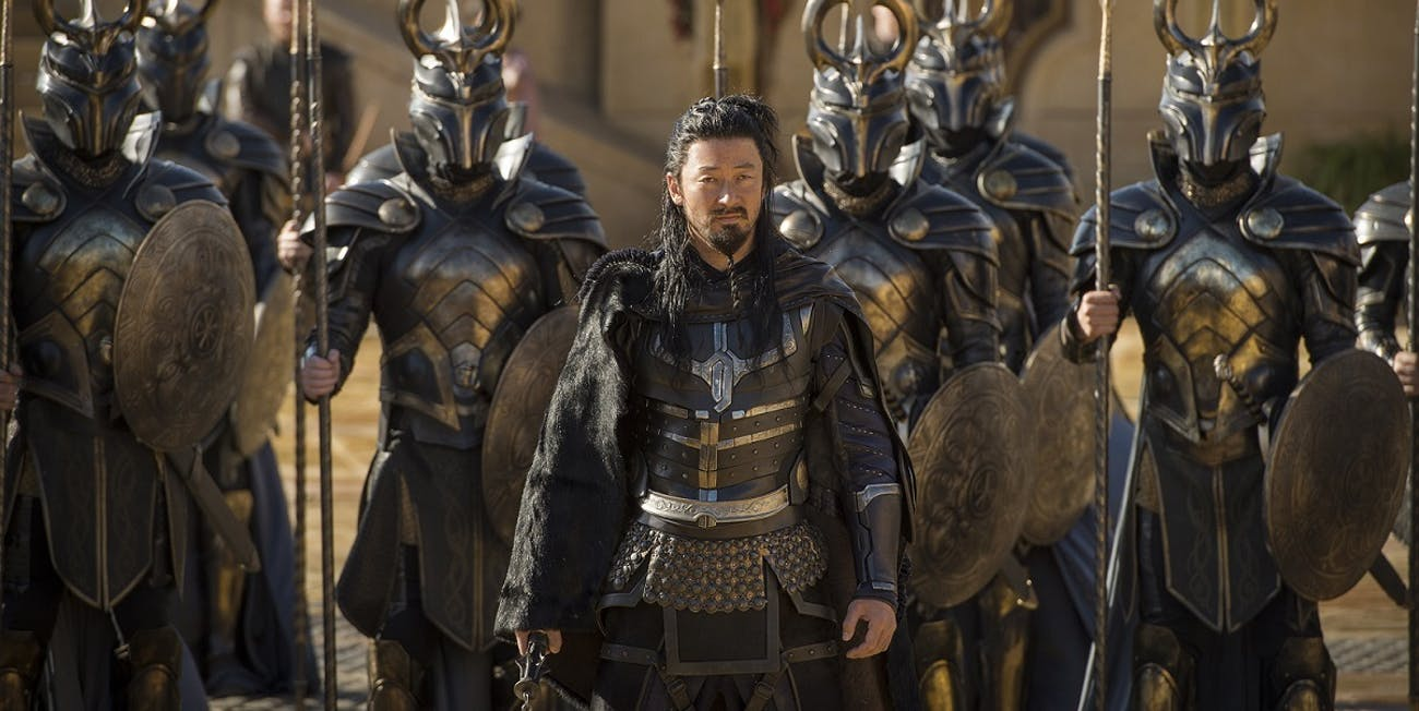 Thor Ragnarok Hogun Warriors Three