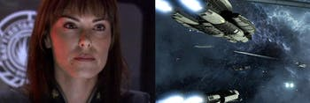 'Battlestar Galactica: Deadlock' resurrects the namesake of an admiral from the series.