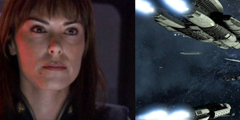 'Battlestar Galactica: Deadlock' resurrects the namesake of an admiral from the series.