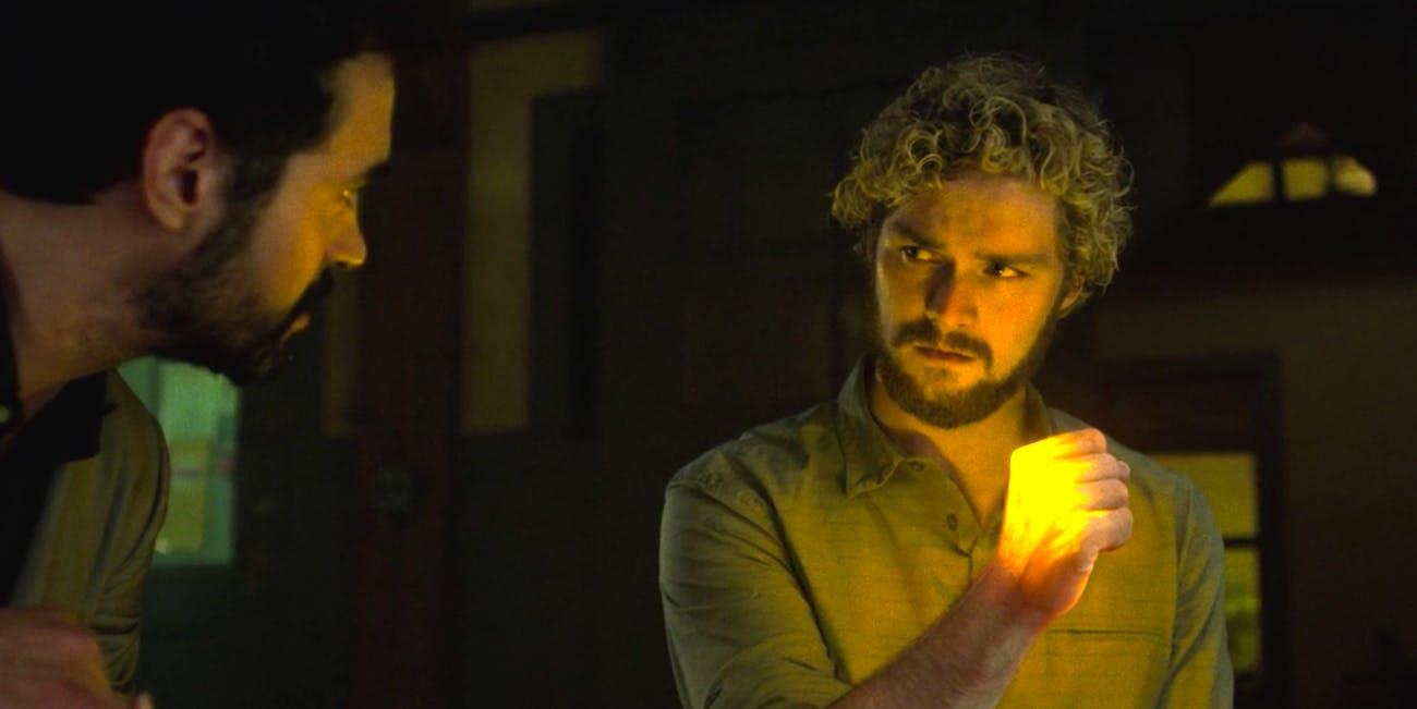 Finn Jones as Danny Rand in 'Marvel's Iron Fist'