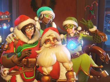 The Holiday 'Overwatch' Skins Are Here and They Are Lovely