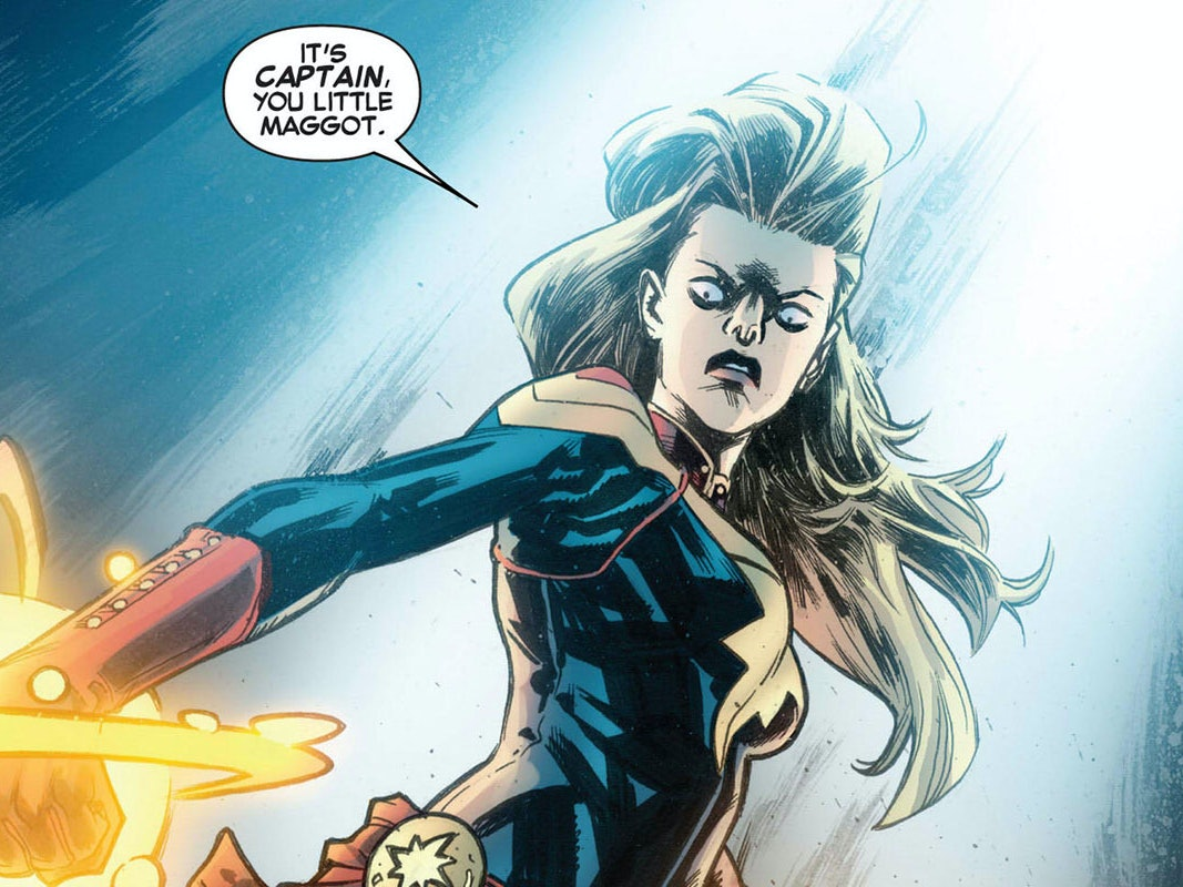 Captain Marvel Wants to Make the MCU Great Again