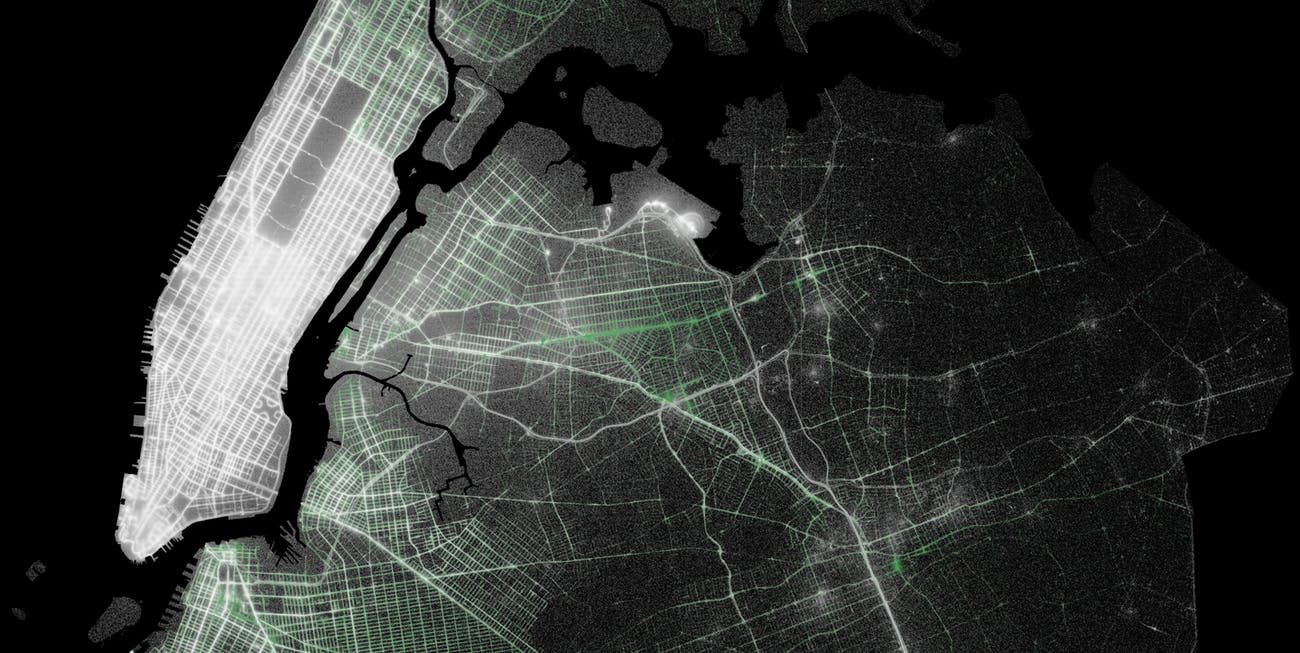 This Map of NYC Taxi Pickups Reveals Why Uber is So