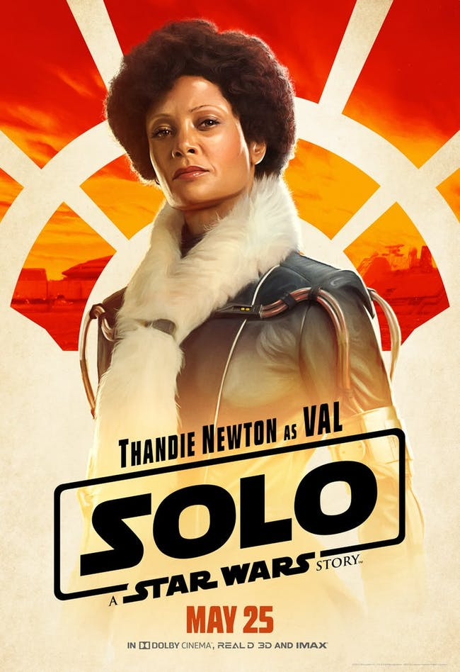 Thandie Newton as Val in 'Solo: A Star Wars Story'.