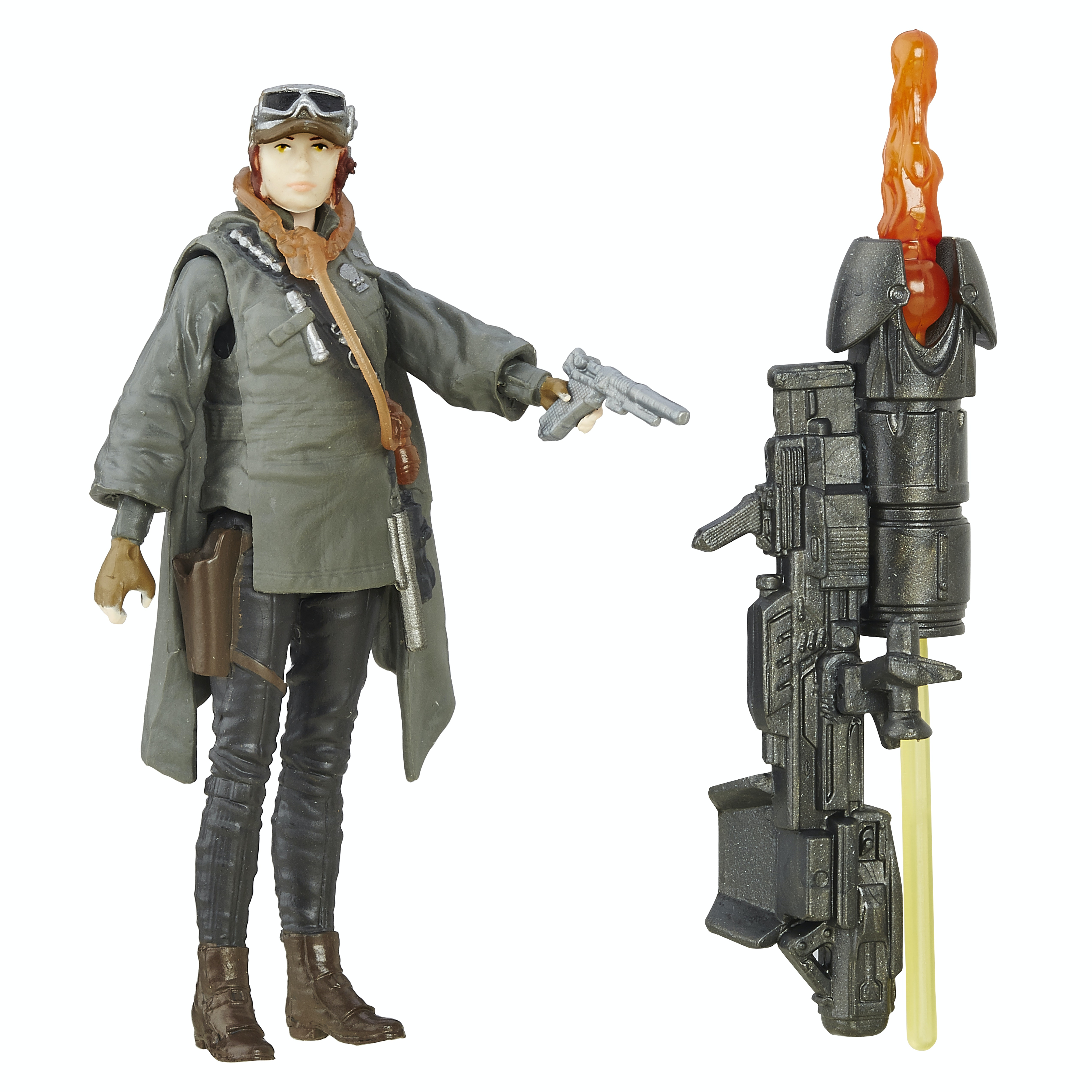 Behold Jyn's Eadu get-up in action figure form.