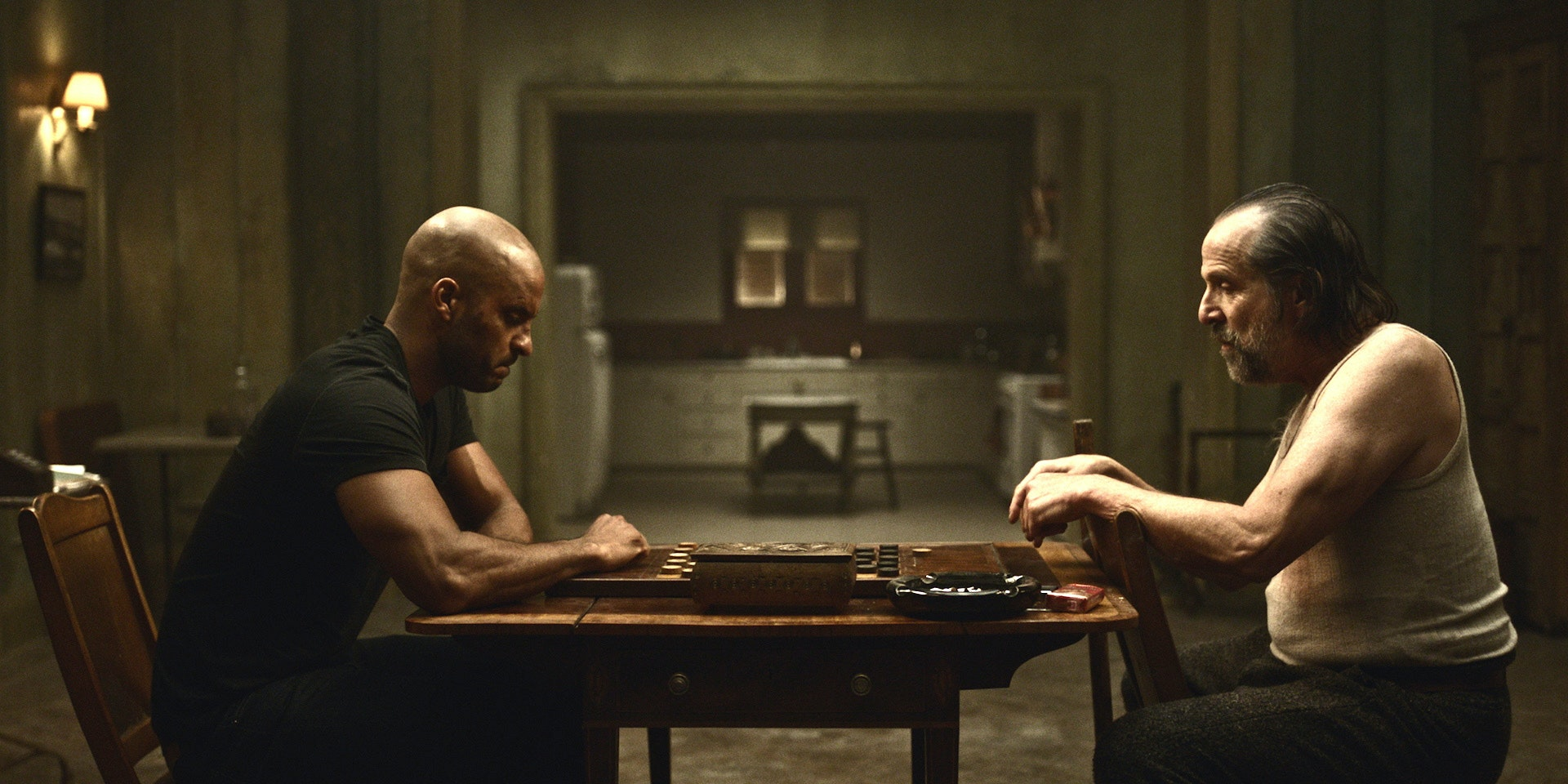 American Gods Wallpaper: Czernobog Threatens Shadow In New 'American Gods' Clip