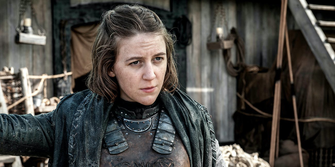 Yara Greyjoy is in a tough situation.