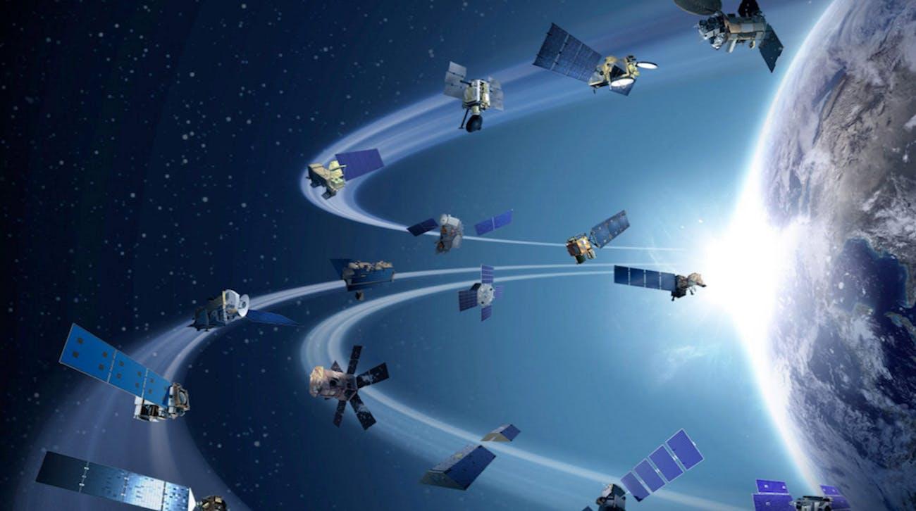 satellites NASA space Earth orbit