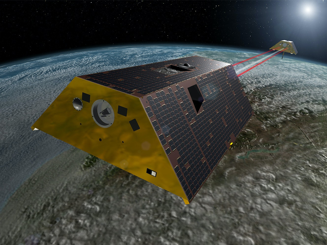 NASA's GRACE-FO to Study Climate Change By Measuring Gravity
