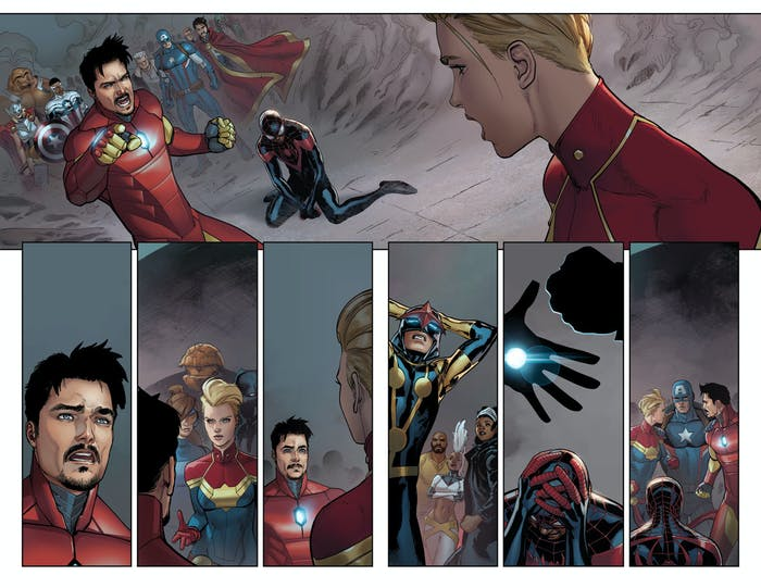 Civil War II #6 Preview