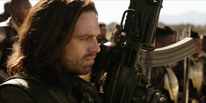 Bucky Barnes returns with a new arm in 'Avengers: Infinity War'.