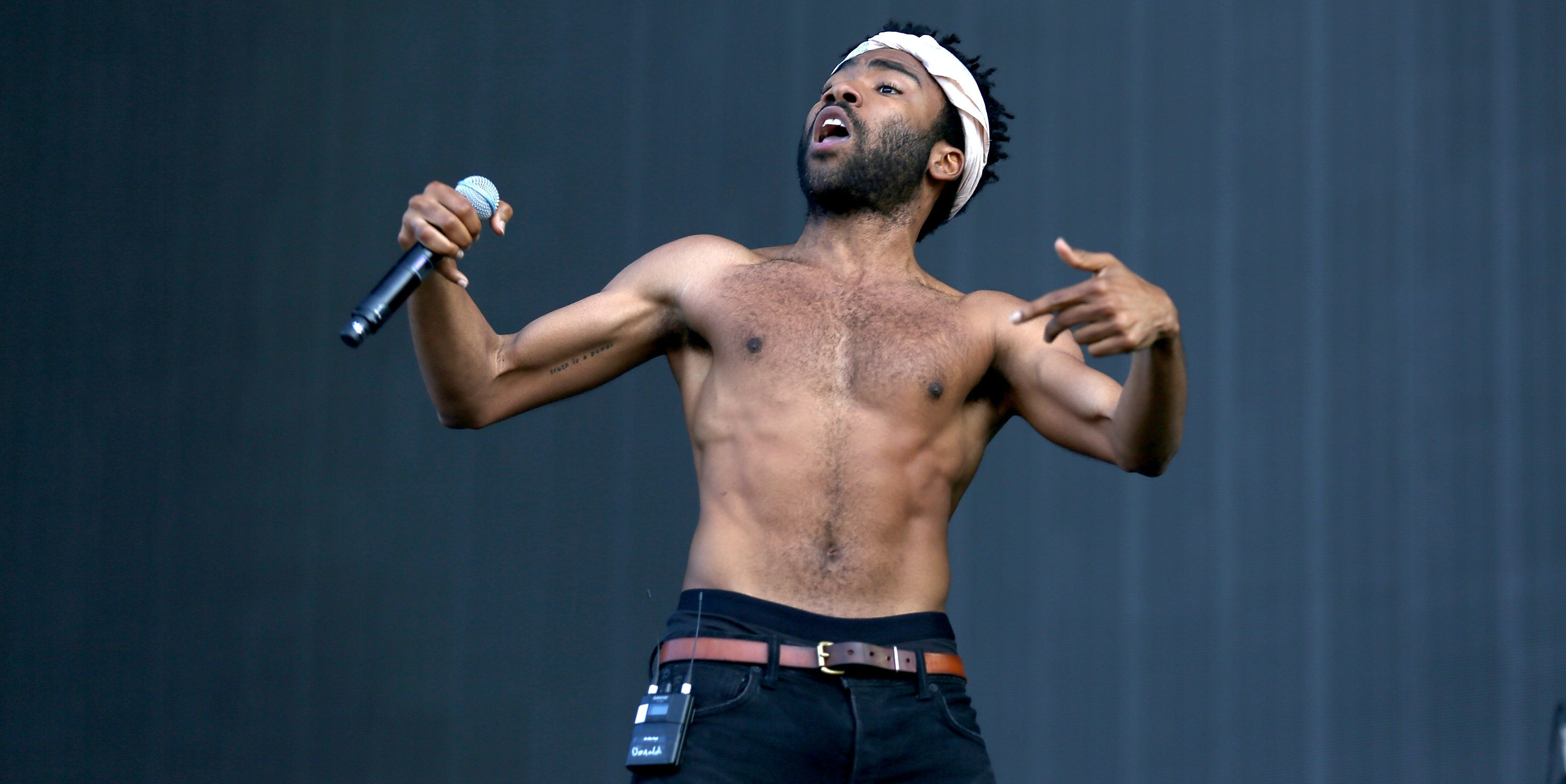LONDON, ENGLAND - JULY 04: Childish Gambino performs on day 2 of the New Look Wireless Festival at Finsbury Park on July 4, 2015 in London, England.  (Photo by Tim P. Whitby/Getty Images)
