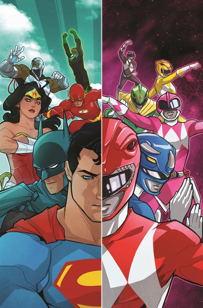 Power Rangers Justice League