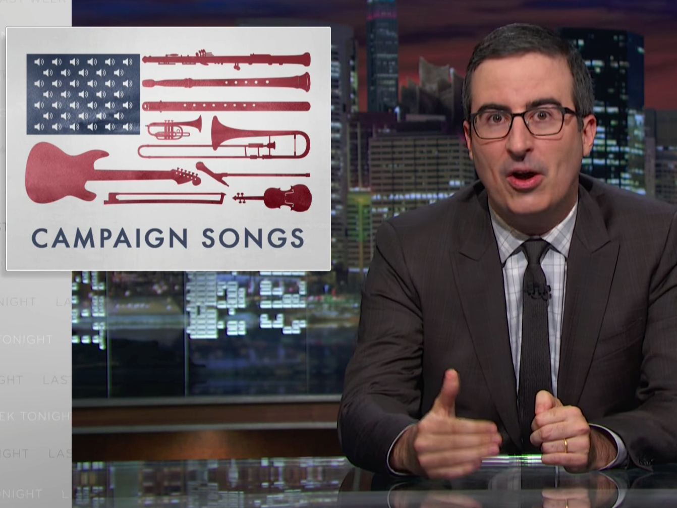 Why John Oliver Brought Usher, Sheryl Crow, Cyndi Lauper Together