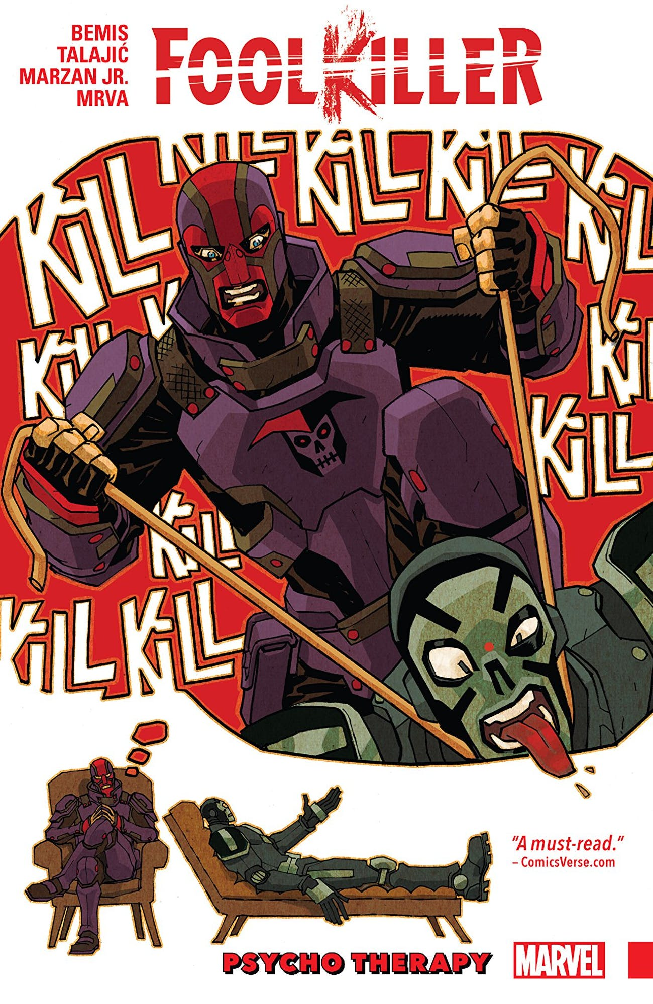 Jessica Jones Marvel Foolkiller