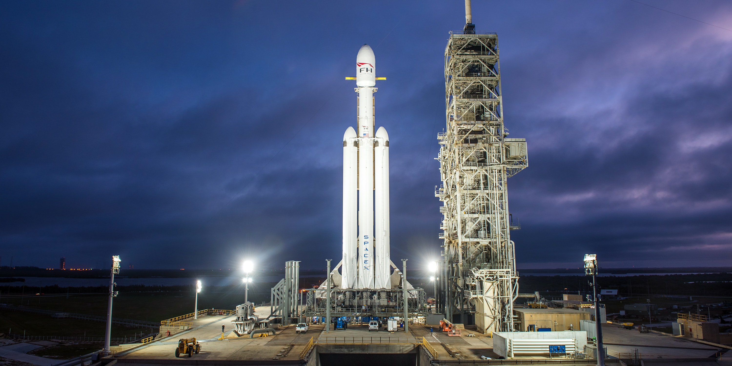 Falcon Heavy: Arabsat 6A Launch Date, SpaceX Preparations, and Stakes