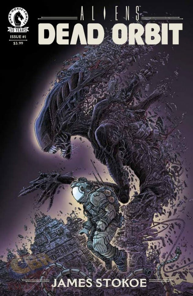 Aliens Dead Orbit from Dark Horse