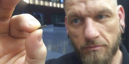 A Swedish start-up is implanting microchips into it's employees to act as a swipe cards.