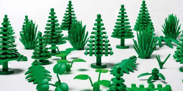 lego plant plastic sustainable