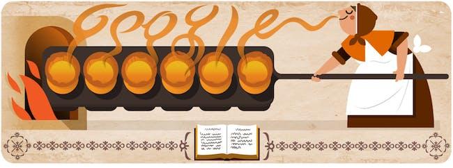 Google doodle Hannah Glasse