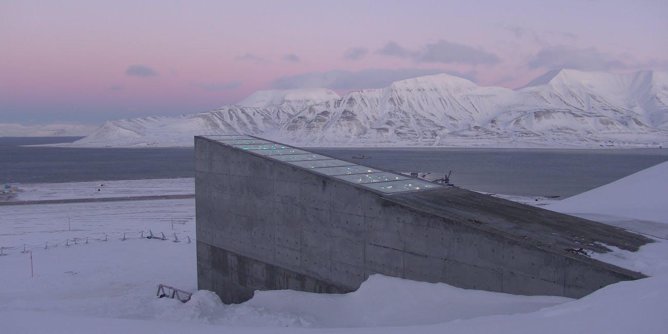 Svalbard Globale frøhvelv/Svalbard Global Seed Vault