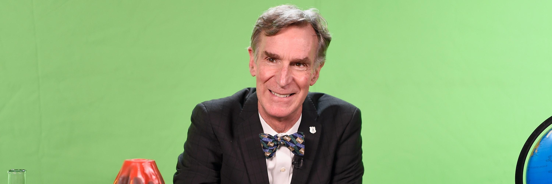NEW YORK, NY - NOVEMBER 29:  Bill Nye hosts National Park Foundation 'View-A-Thon' at Mashable on November 29, 2016 in New York City.  (Photo by Dave Kotinsky/Getty Images for National Park Foundation)