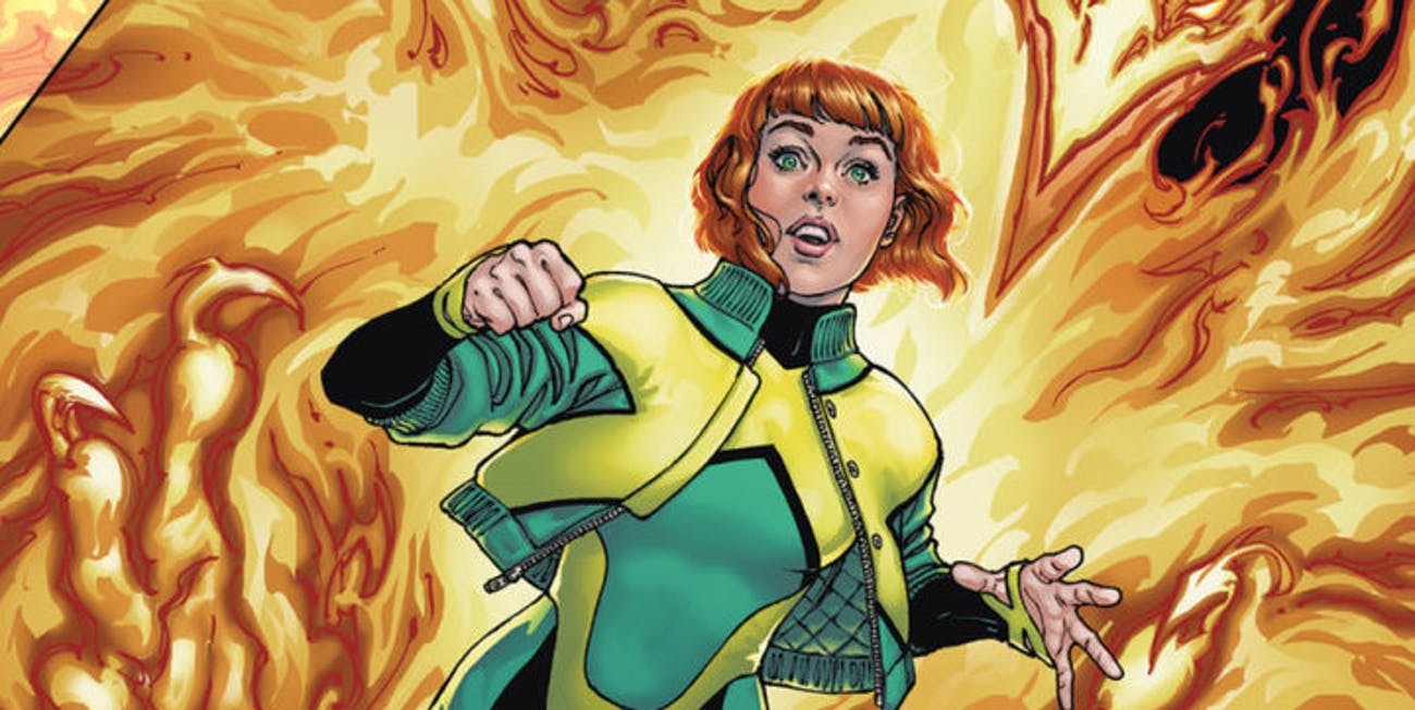Jean Grey #1 2017 for Marvel Comics