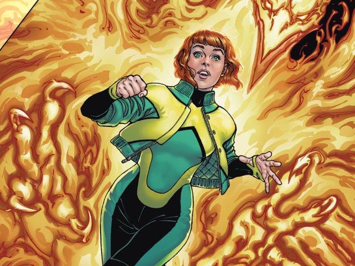 Jean Grey and the Phoenix Return in Brand New X-Men Comic