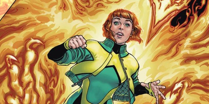 Jean Grey #1 2017 for Marvel Comics