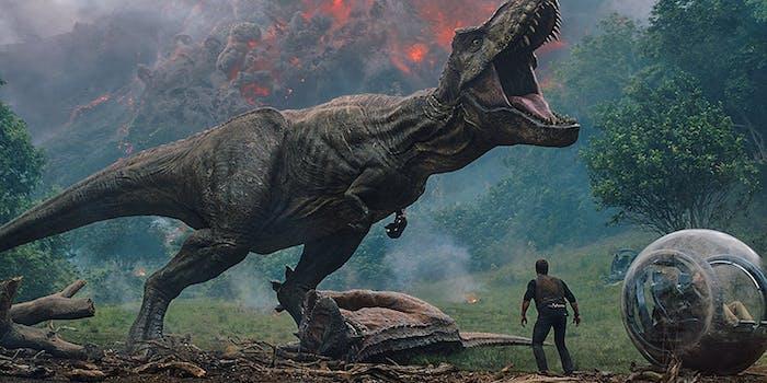 Jurassic World Fallen Kingdom Horror Movie
