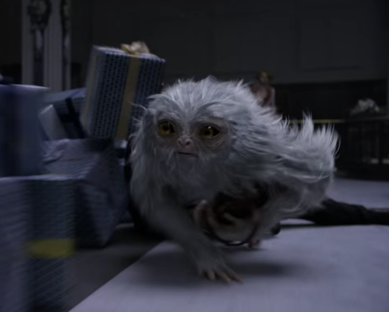 The Demiguise in 'Fantastic Beasts and Where to Find Them'