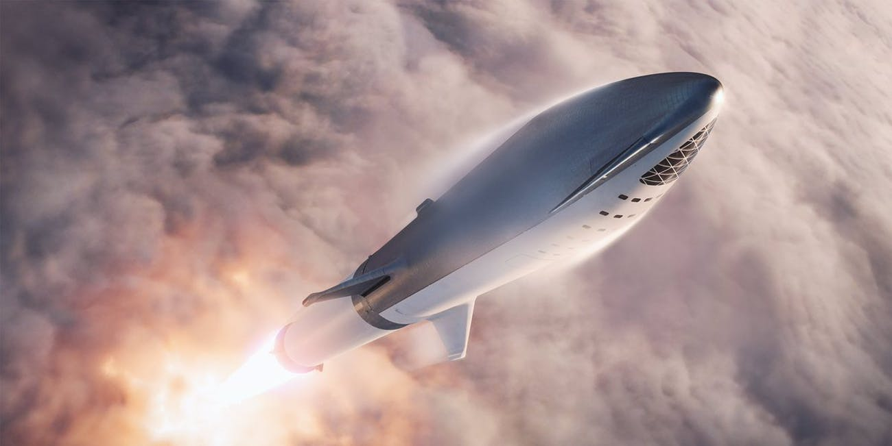 SpaceX BFR Elon Musk