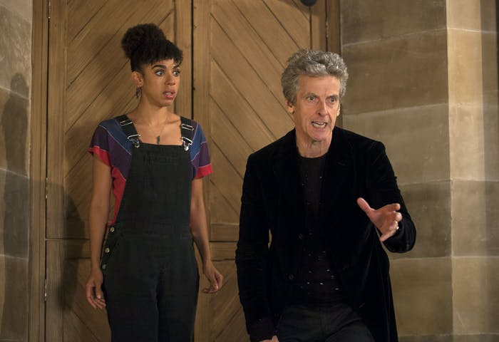 "In ""Knock Knock,"" the Doctor plays the concerned parental figure to Bill's group of young renters."