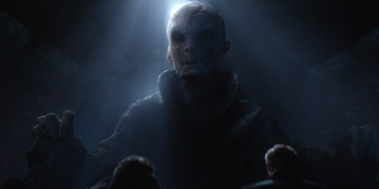 Supreme Leader Snoke is not Darth Plagueis