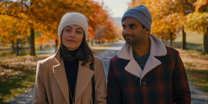 Francesca (Alessandra Mastronardi) and Dev (Aziz Ansari) in 'Master of None' Season 2.