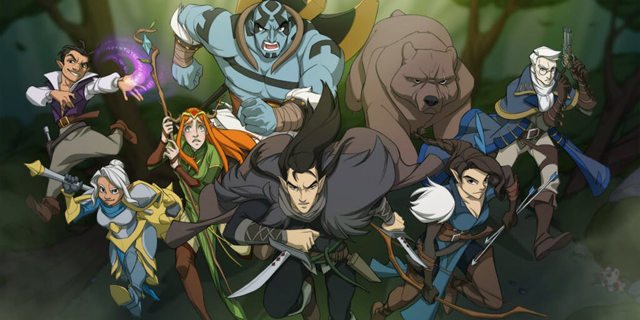 Critical Role Animated Series After Kickstarter Work